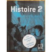 Histoire 2nde - Livre Du Professeur Complet de LAURENT BOURQUIN