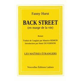 Back Street (En Marge De La Vie) - Fanny Hurst