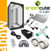 Pack Tente �co G-Light 120 - 400w Hortilight + Black Box