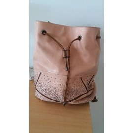 Accroche Sac Lili Polyester Rose