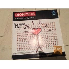 DIONYSOS PLV FNAC 30CM*30CM VAMPIRE EN PYJAMA