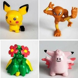 Xagoo� Lot De 24 Mini-Figurines Pokemon 2 � 3 Cm