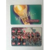 2 Cartes T�l�phoniques Deutsche Telekom