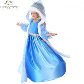 Heegrand Enfant Fille Robe De Soir�e Robe D�guisement La Reine Des Neiges