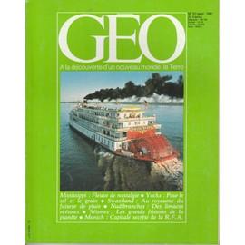 Geo N�31 Du 01/09/1981 : Swaziland - S�ismes - Nudibranches - Caravanes De Yacks - Mississipi