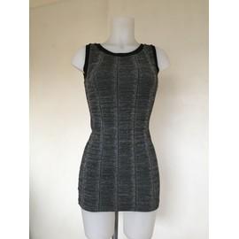 Robe Zara Trf By Zara 36 Gris