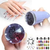 Stamping Tampon Recette Pr Vernis � Ongle Manucure Ongles Nail Art Grattoir Tips