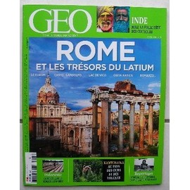 Geo N�445. Rome Et Les Tresors Du Latium