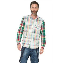 Chemise Cuadros Patch