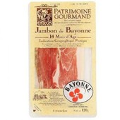 Patrimoine Gourmand - Jambon De Bayonne Igp (14 Mois D Ge) 120 G - 6 Tranches - Isotherme:Emballage Isotherme