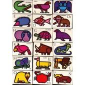 Lot De 27 Boites D'allumettes / Philumenie / Theme : Abecedaire + Animaux : Oiseaux, Insectes, Mammif�res, Reptiles...