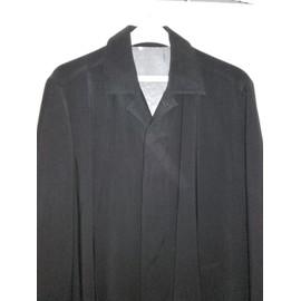 Pardessus Classique Tres �l�gant! Courreges Noir Taille L