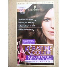 K�ratine Color - Ch�tain Naturel