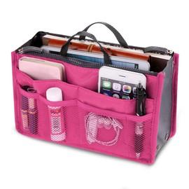 Organiseur Organisateur Range Sac � Main Pochette Trousse De Toilette Carte Voyage Maquillage Telephone Portable 11 Couleurs
