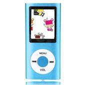 Lecteur Mp3 Mp4 Player 32Go Slim avec �cran LCD Radio FM vid�o jeux & film en couleur de bleu 1.8