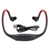 �couteur Sans Fil Casque Bluetooth St�r�o Headset De Sport Pour T�l�phone Portable Iphone Pc Et Ipod En Rouge