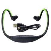 �couteur Sans Fil Casque Bluetooth St�r�o Headset De Sport Pour T�l�phone Portable Iphone Pc Et Ipod En Vert