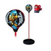 Transformers Punching Ball Sur Socle + Gants