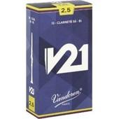 Boite De 10 Anches Vandoren V21 Clarinette Sib / Bb Force 4
