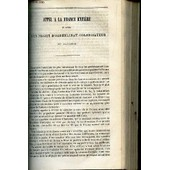Appel A La France Entiere En Faveur D'un Projet D'orphelinat Colonisateur En Algerie. de COLLECTIF