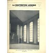 La Construction Moderne - 48e Volume (1932-1933) - Fascicule N�42 - Le Central Telephonique Ornano � Paris, Maison Des Syndicats Fascistes � Milan. de RUMLER A. / LABRO G. / BORDONI A. / CANEVA L.
