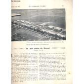 La Construction Moderne - 43e Volume (1927-1928) - Fascicule N�12 - Le Port Aerien Du Bourget, Batiment De La Direction, Le Pavillon Paul Bert, Les Grands Hangars Du Type Lossier En Ciment ... de RUMLER A.