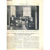 La Construction Moderne - 43e Volume (1927-1928) - Fascicule N�10 - Villa Mezouza Au Touquet Paris-Plage, Detail De La Chambre � Coucher Principale, Le Domaine Departemental De Sceaux ... de RUMLER A. / POUTHIER ET PALASSE MM.