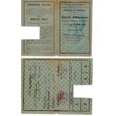 Premi�re Carte D'�lecteur Femme 1946