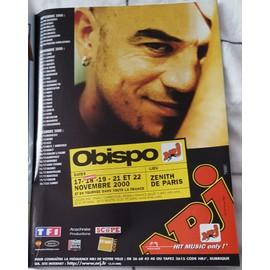 poster a4 pascal obispo
