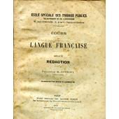 Cours De Langue Francaise-Livre Ii Redaction de PROFESSEUR M. DENNERY