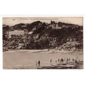 Carte Postale Ancienne. Anim�e. Le Havre. Vue G�n�rale De Ste-Adresse. La Plage. 76 Seine-Maritime.