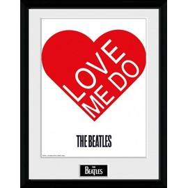 The Beatles Poster De Collection Encadré - Love Me Do (40x30 cm)