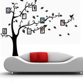 Sticker Mural Arbre Autocollant D�coration Mur Wall Muraux Decal Chambre Salon