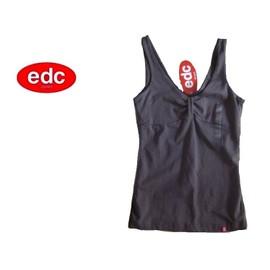 T-Shirt Neuf Debardeur Sans Manche Top - Edc By Esprit - Femme / Fille - - Femme / Fille - T. S Ou T. 36 Ou T. 1 Neuf