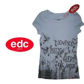 T-Shirt Neuf Debardeur Manche Courte Top Edc By Esprit - Femme / Fille - T. 34 Ou T. Xs Neuf