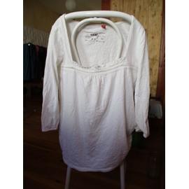 T-Shirt � Manches Longues Dentelle Esprit T:M