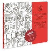 Poster � Colorier 100x70cm London - Omy