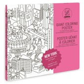 Poster � Colorier 100x70cm New York - Omy