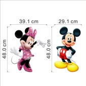 Sticker Mural Enfants Chambre D�co Mickey Mouse Minnie