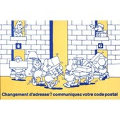 C.Postale : Ptt - Changement D'adresse ?