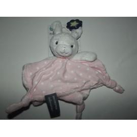 Doudou Plat Lapin Orchestra Pr�maman �toiles Fluorescentes Phosphorescent Blanc Rose 4 Noeuds B�b� Brod� Jouet Bebe Naissance Peluche �veil Enfant Comfort Blanket Comforter Soft Toy