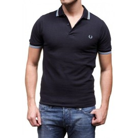Polo Fred Perry Homme M3600 Marine 772