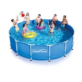 Piscine Tubulaire Metal Frame Pools - � 4.57 X 1.22m