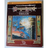 Modules De Sc�narios Tsr Dragonlance 1985 - Dl8 Dragons Of War - Pour Jeux De R�les Donjons Et Drag