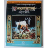 Modules De Sc�narios Tsr Dragonlance 1985 - Dl13 Dragons Of Truth -Jeux De R�les Donjons Et Dragons
