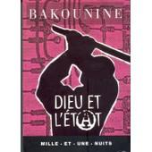 3 Poches Collection Mille Et Une Nuits. Bakounine: Dieu Et L'�tat + Vaneigem: Avertissement Aux �coliers Et Lyc�ens + Thoreau: De La Marche