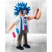 figurine playmobil serie 10 le supporter de foot pl068
