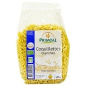 Primeal - Coquillettes Blanches Bio 500 G - P Tes Blanches - Fabriqu� En France