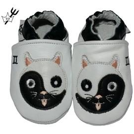 Chaussures / Chaussons B�b� En Cuir Souple Astro Chaussons Princesses & Diablotins