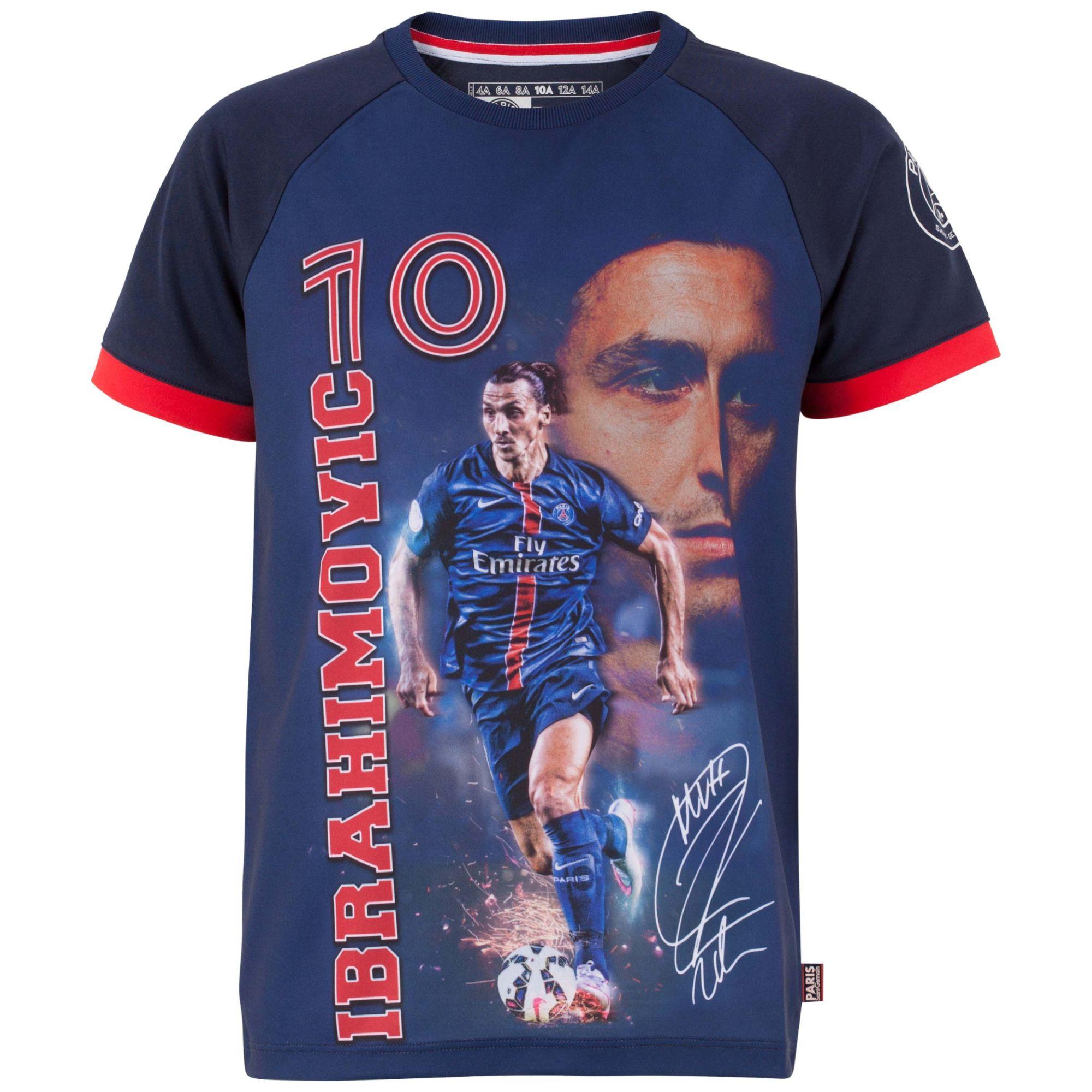 Maillot Psg - Zlatan Ibrahimovic - Collection Officielle Paris Saint Germain